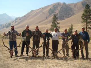Elk Antlers Middle Fork of the Salmon - Idaho Units 20A, 26 and 27 - Idaho Wilderness Company - Outfitter Steve Zettel