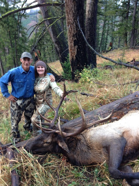 Idaho Bull Elk, Hunter and Guide - Idaho Wilderness Company _ Outfitter Steve Zettel