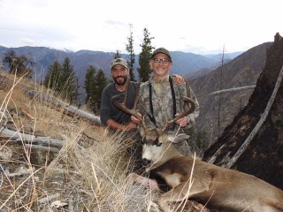 Taken during the Rut - Idaho Unit 20A Mule Deer - Outfitter Steve Zettel