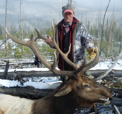 Late Season Bull Elk - Idaho Wilderness Company - Frank Church River of No Return Wilderness - Middle Fork of the Salmon River - Outfitter Steve Zettel