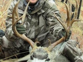Mule Deer taken in Idaho unit 27 - Frank Church River of No Return Outfitter Steve Zettel