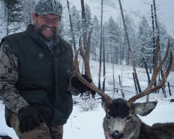 Mule Deer - Middle Fork of the Salmon - Idaho Wilderness Company Outfitter Steve Zettel