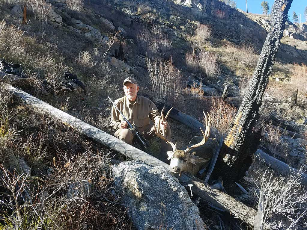 Idaho Mule Deer picture taken in unit 26 - Idaho Wilderness Company