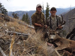 Mule Deer Hunting Unit 20A - Middle Fork of the Salmon River - Frank Church Wilderness River of No Return