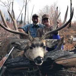 Rocky Mountain Mule Deer Idaho Wilderness Company - Outfitter Steve Zettel