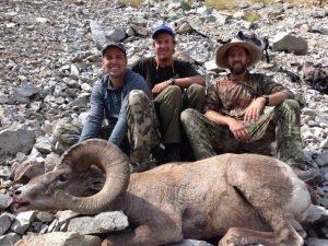 Tim Bryson - Bighorn Ram - Idaho Unit 5027 - Frank Church Wilderness